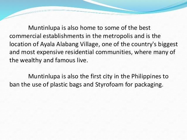 philippines financial district bans plastic bags The sentinel, located in the city's financial district, included the following message at the bottom of their menus: napkins, straws, and bags are available upon request you can still get needles for free though.