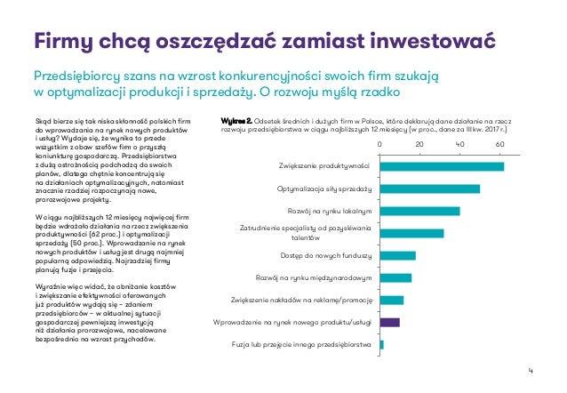 Firmy chcą oszczędzać zamiast inwestować Skąd bierze się tak niska skłonność polskich firm do wprowadzania na rynek nowych...
