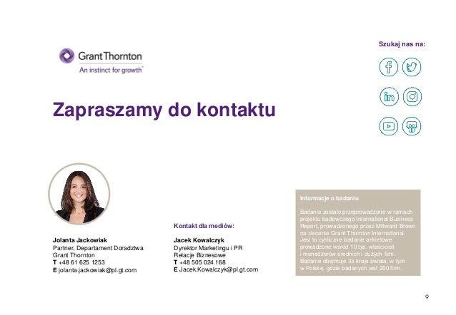 Zapraszamy do kontaktu Szukaj nas na: Kontakt dla mediów: Jacek Kowalczyk Dyrektor Marketingu i PR Relacje Biznesowe T +48...