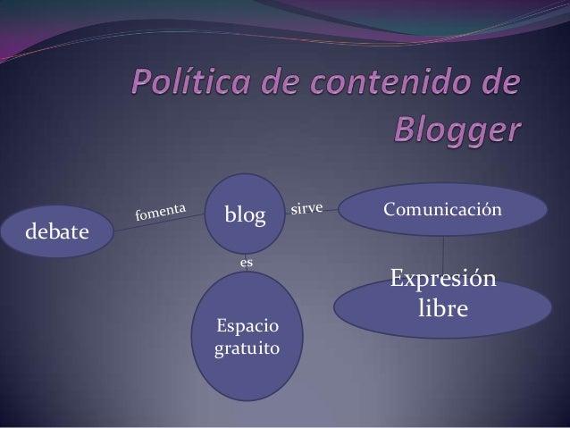 blog      Comunicacióndebate                    Expresión                      libre         Espacio         gratuito