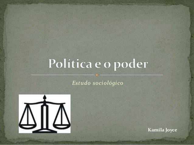 Estudo sociológico Kamila Joyce