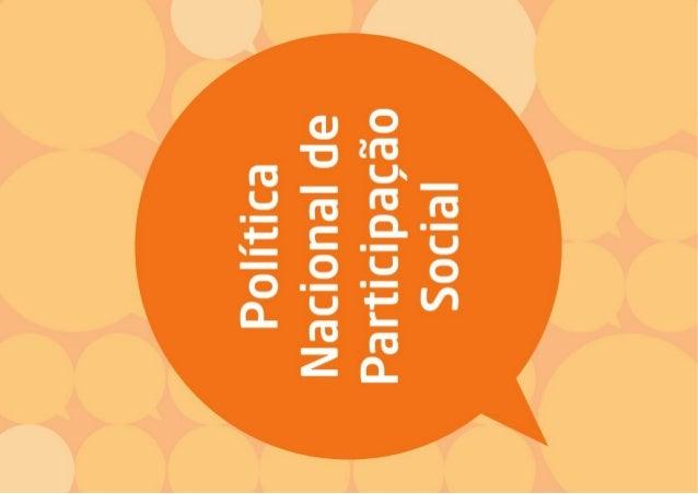 Política Nacional de Participação Social - Cartilha