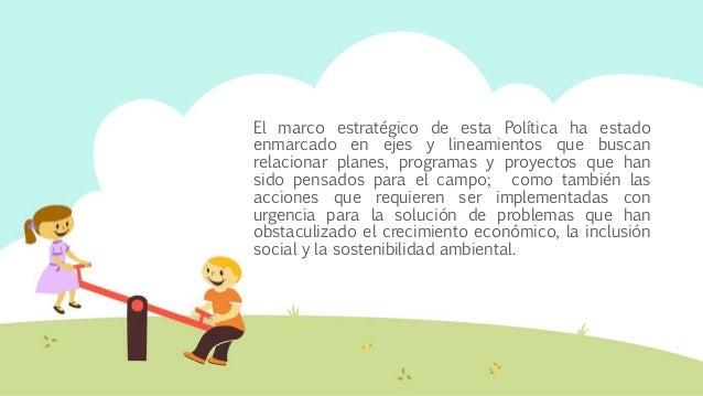 Política pública desarrollo rural
