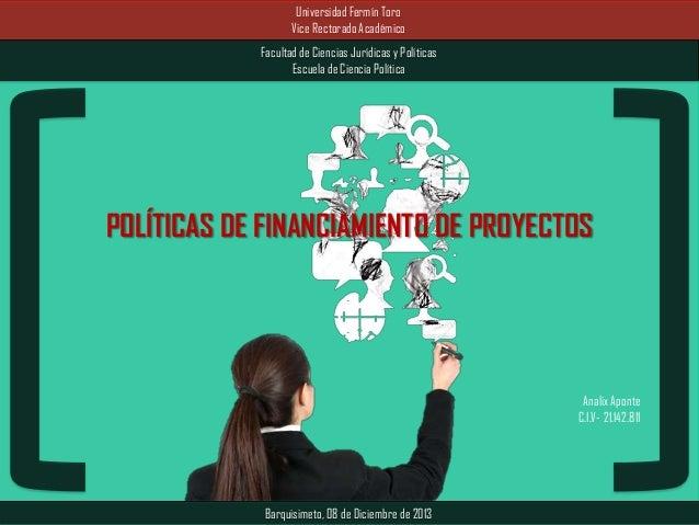 Universidad Fermín Toro Vice Rectorado Académico Facultad de Ciencias Jurídicas y Políticas Escuela de Ciencia Política  P...