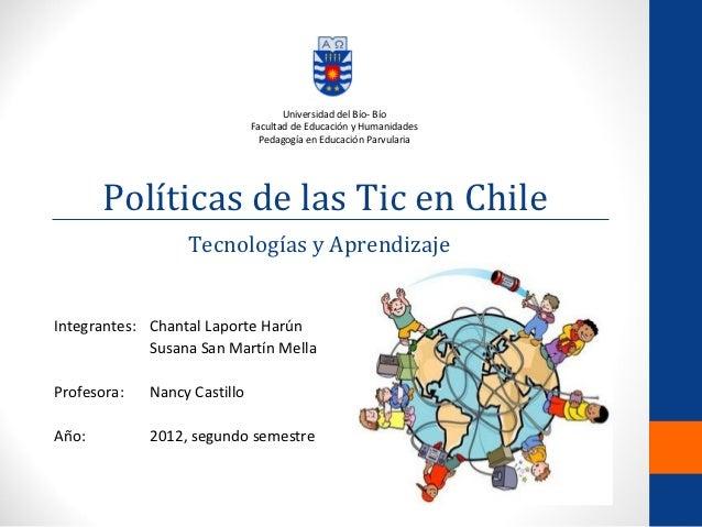 Universidad del Bío- Bío                              Facultad de Educación y Humanidades                                P...