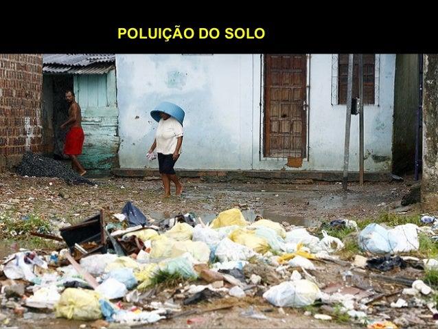 POLUIÇÃO DO SOLO Aluna: Ariana Paula de Abreu