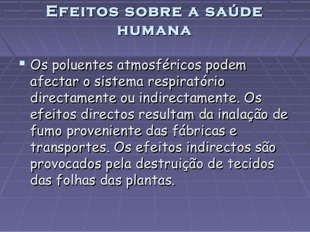 Poluição atmosférica 9g Slide 3