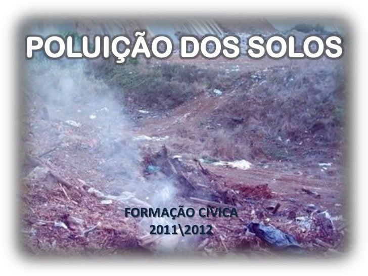 FORMAÇÃO CÍVICA   20112012