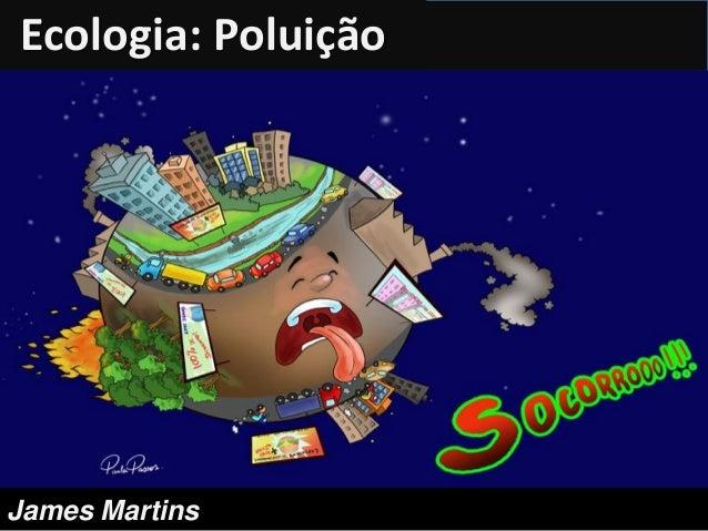 Ecologia: PoluiçãoJames Martins