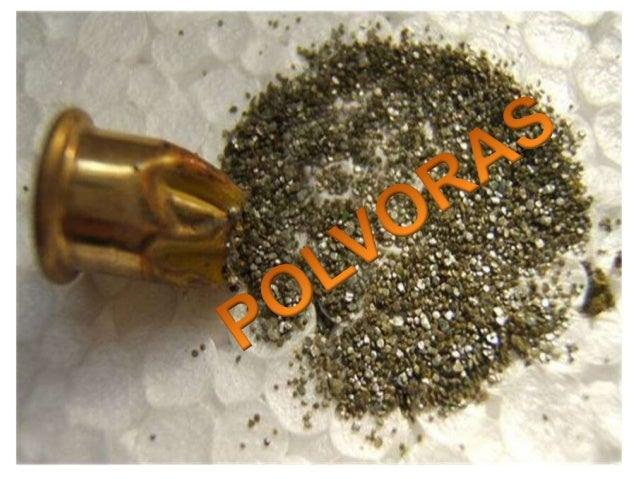 La pólvora es una sustancia deflagrante utilizada principalmente como propulsor de proyectiles en las armas de fuego y con...