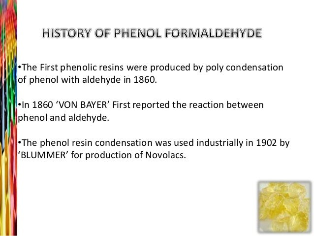 when was formaldehyde first used