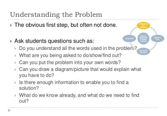 problem solving polyas method