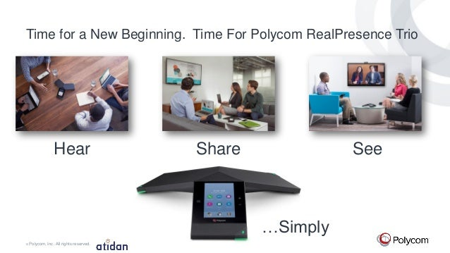 Polycom RealPresence Trio 8800 for Microsoft Office 365 and