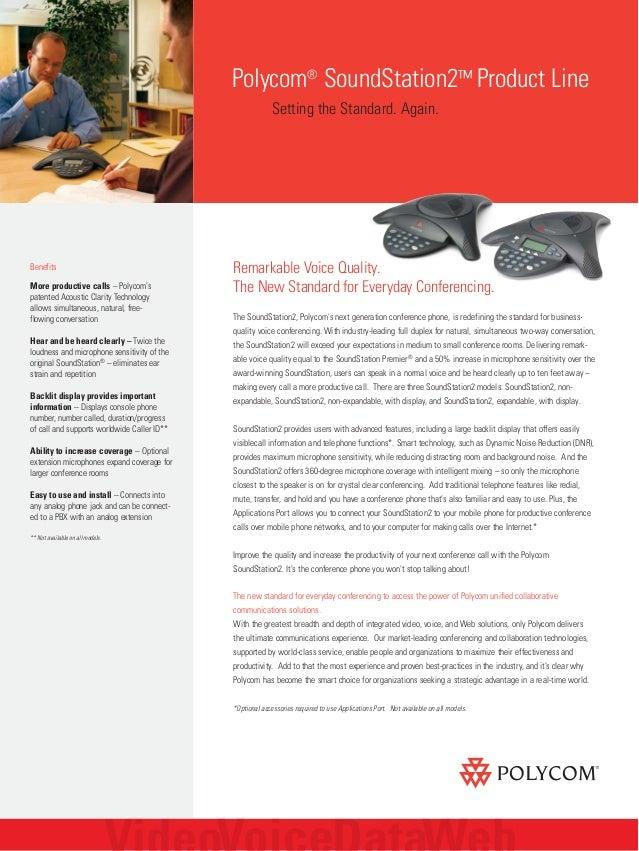 warranty provided Polycom 2200-16200-001 SoundStation 2 Expandable