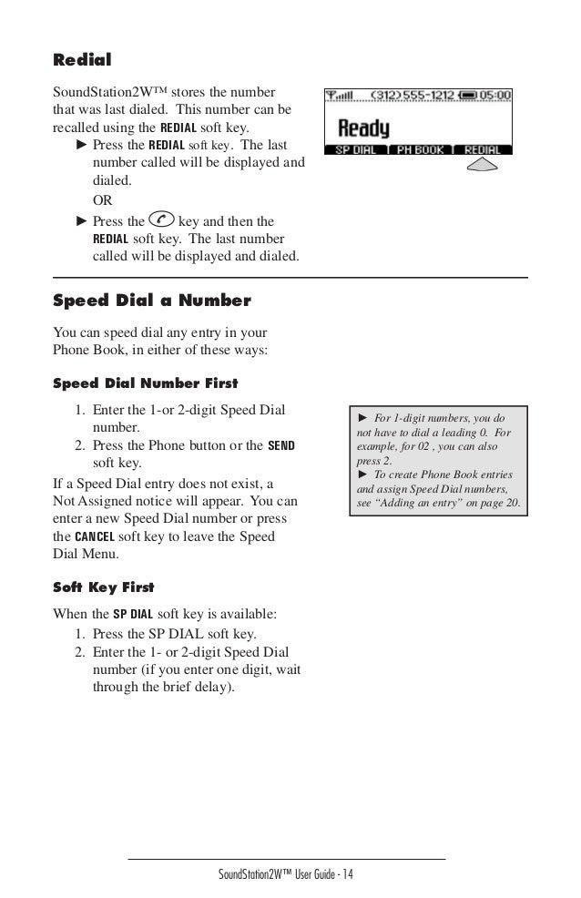 polycom soundstation 2 instruction manual