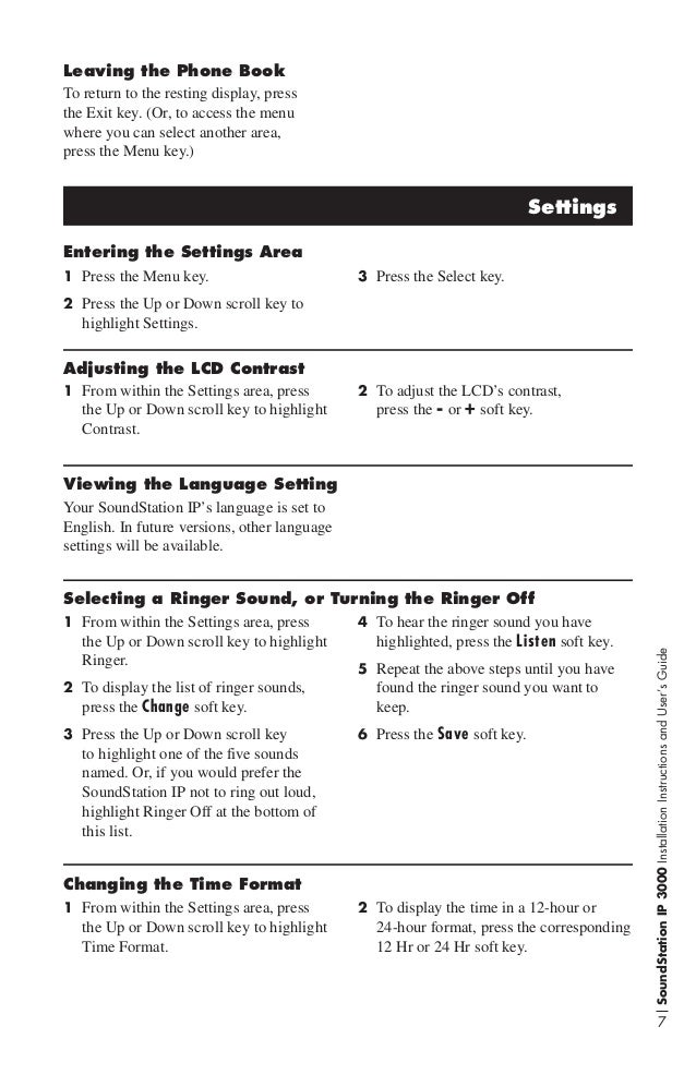 polycom soundstation 2 instructions