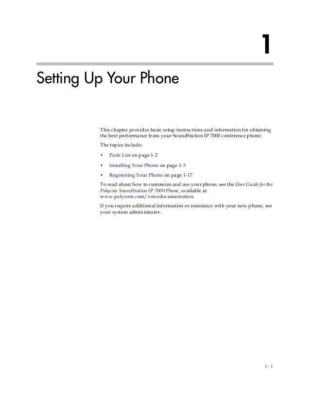 polycom conference phone instructions