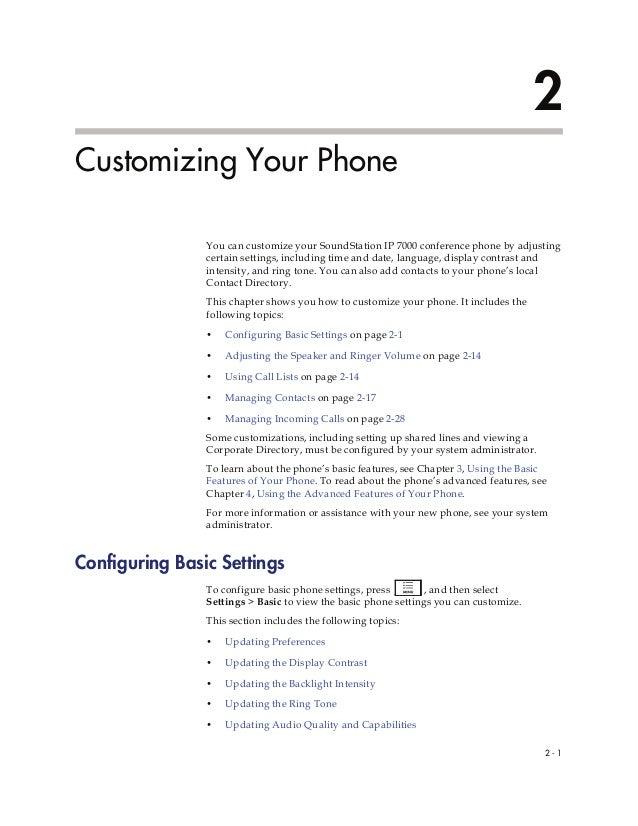 polycom soundstation conference call instructions