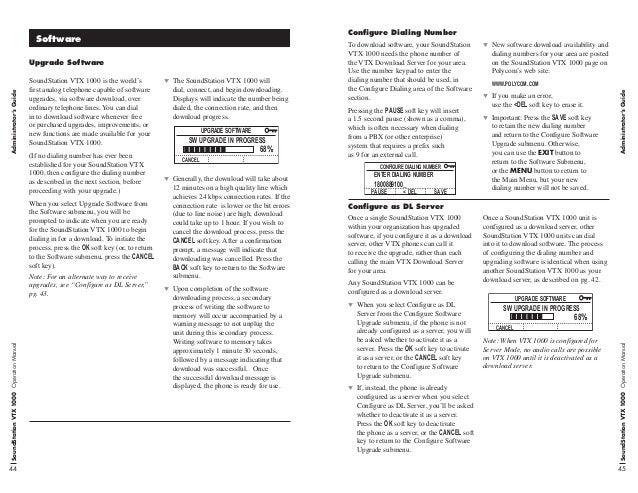 polycom soundstation vtx 1000 manual