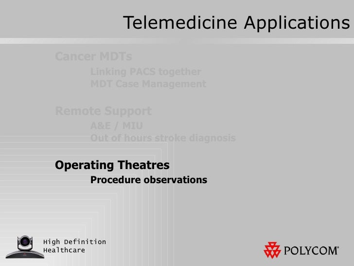 telemedicine case essay Select one of the sub specialties of telemedicine/telehealth listed in this weeks reading then, use the reading, multimedia, and your own research to address the following: 1.