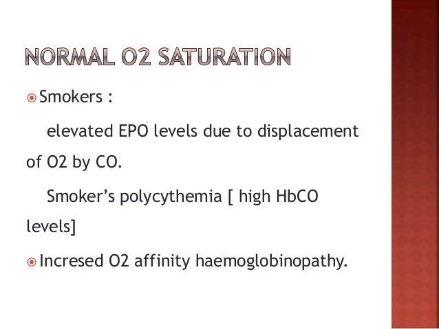  EPO producing neoplasms: Hepatoma uterine leiomyoma renal cancer or cysts cerebellar haemangiomas adrenal tumors phaeoch...