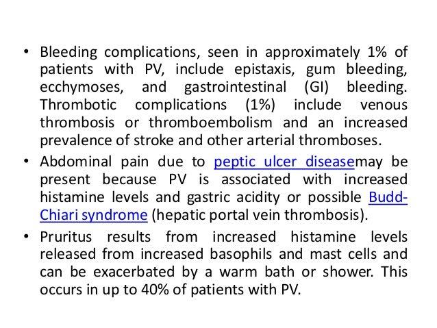 Polycythaemia vera (PV) – modified from revised WHO criteria for diagnosis Major criteria • Haemoglobin >185 g/L in men, 1...