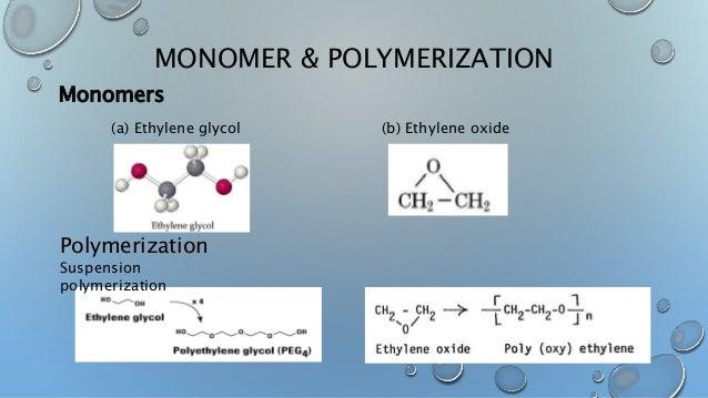 Polyethylene glycol and poly lactic acid