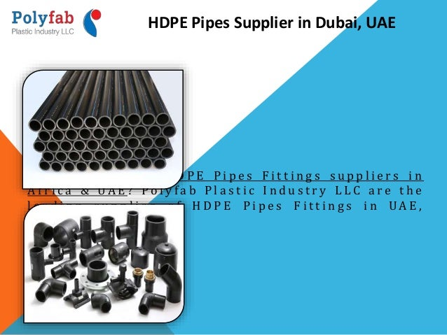 Pipes And Fittings Suppliers In Uae