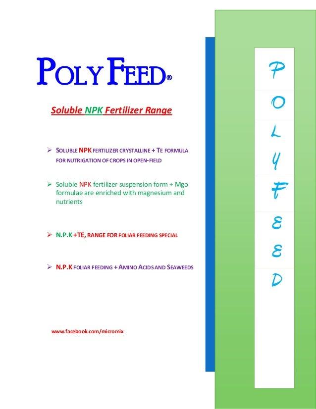 Poly feed presentation