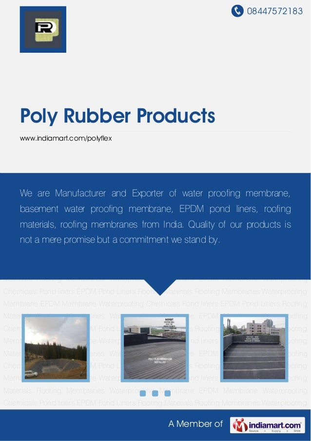 Poly Rubber Products, Mumbai, Poly Flex Fish Pond