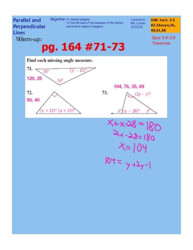 Polygon Exterior Angle