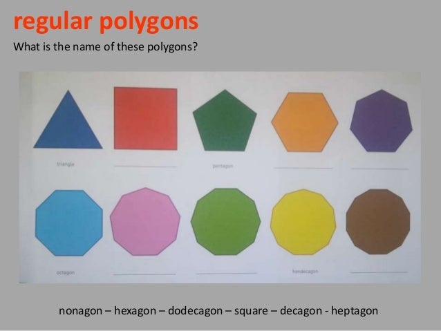 Regular Polygons In Nature Polygonal shape...
