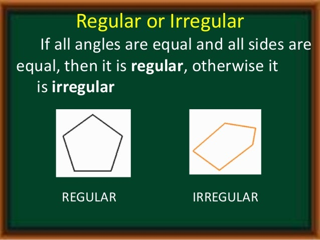 Regular Polygons In Nature Polygons (its m...