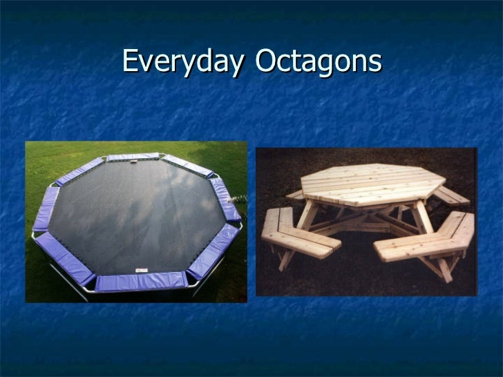 Hexagons In The Real World Polygons powerpoint