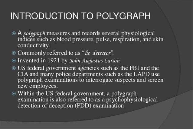 polygraph machine