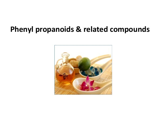 Phenyl propanoids & related compounds