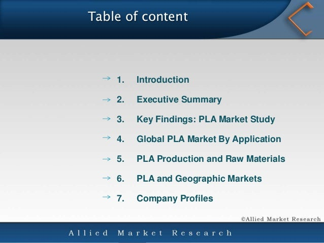an overview of the polylactic acid pla Lactic acid and polylactic acid (pla) market focuses on the world market, in perspective of manufacturers, regions, types and applications the report covers the.