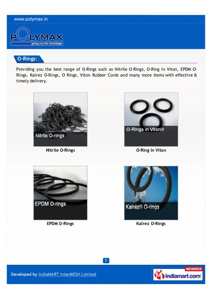 Polymax Ltd Mumbai Rubber Products