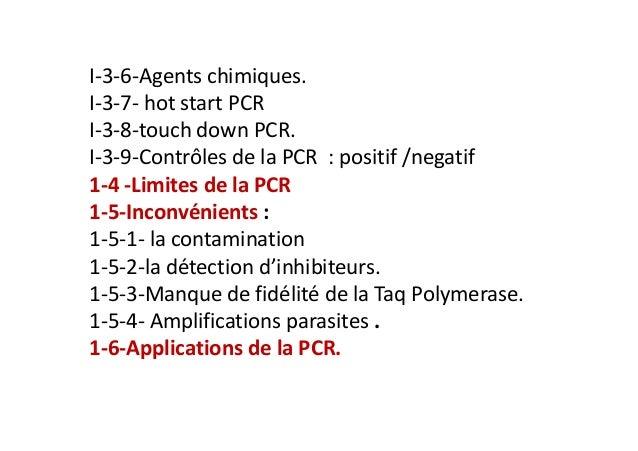 PCR : Polymerase chain reaction : classique et en temps réel Slide 3