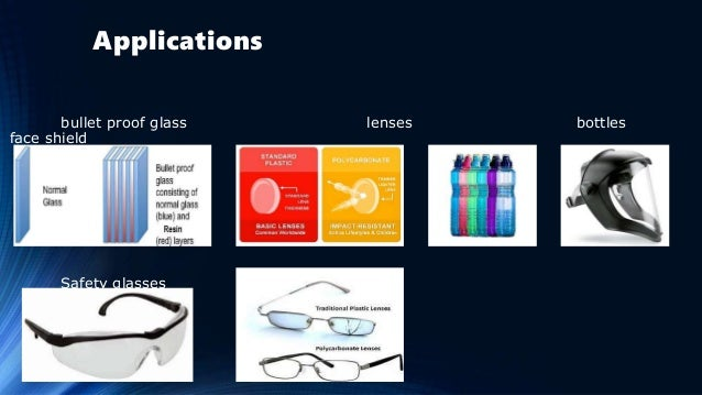Applications bullet proof glass lenses bottles face shield Safety glasses