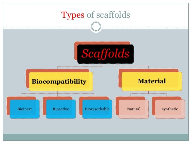 types of scaffolds in tissue engineering Polymeric and metallic scaffolds for tissue engineering