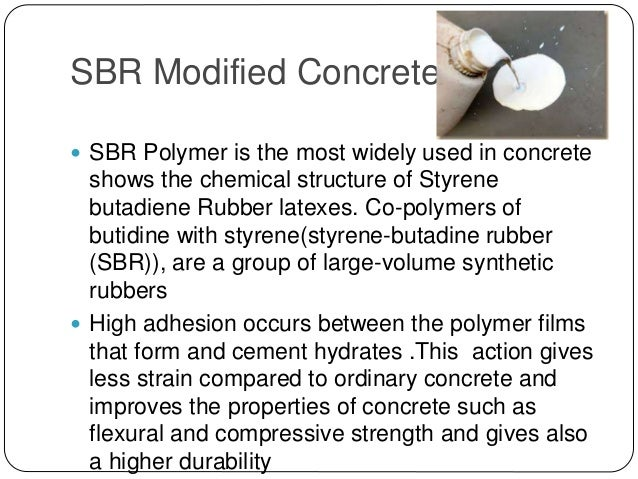 Polymer Modified Concrete