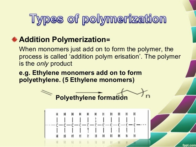 It Is useful to dIstInguIsh four polymerIzatIon procedures fIttIng thIs general descrIptIon. • Radical Polymerization The ...