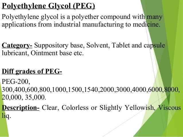 The Study of Polymers Used in Pharmaceutical Industries