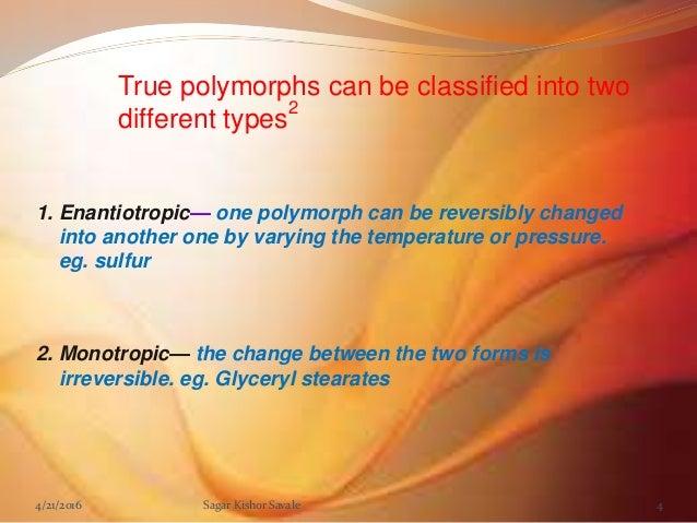 Monotropy definition