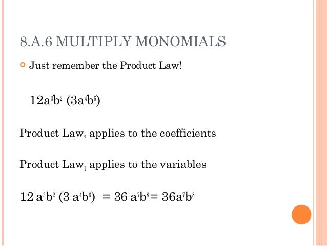 Multiplying Monomials And Polynomials Worksheet - Tecnologialinstante