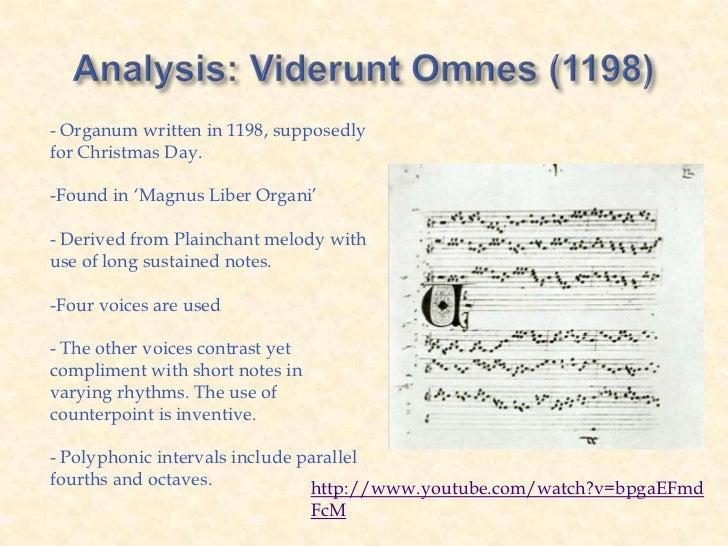 perotin viderunt omnes analysis