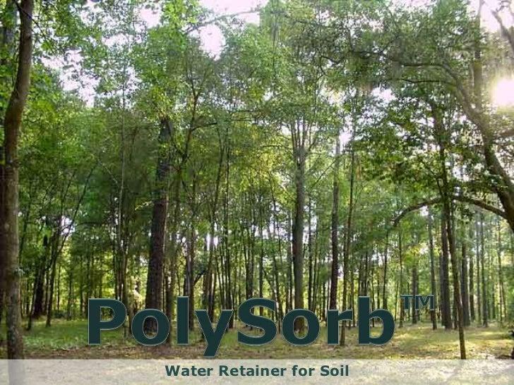 Water Retainer for Soil      www.Satyajit.co