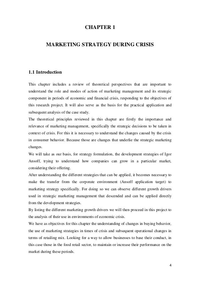 thesis on retailing