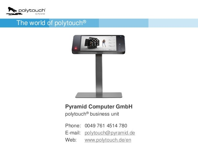 Polytouch 174 By Pyramid